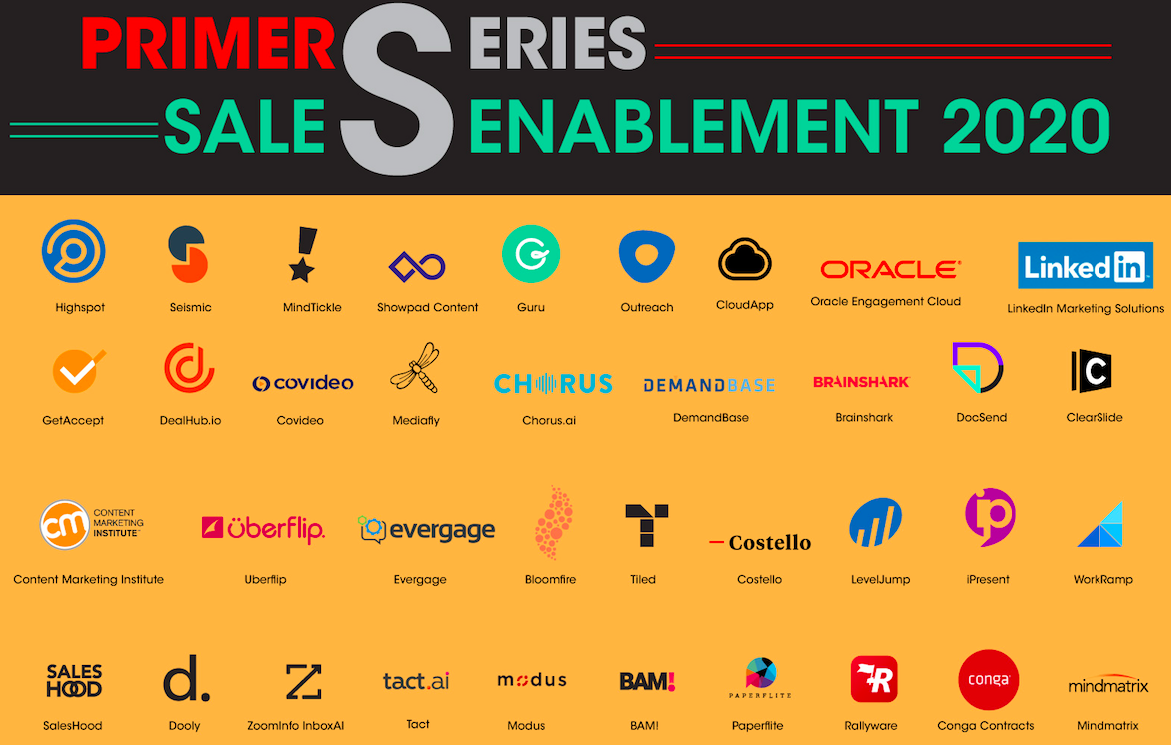 Yet another market overview graphic – martechseries.com publishes Sales Enablementprimer